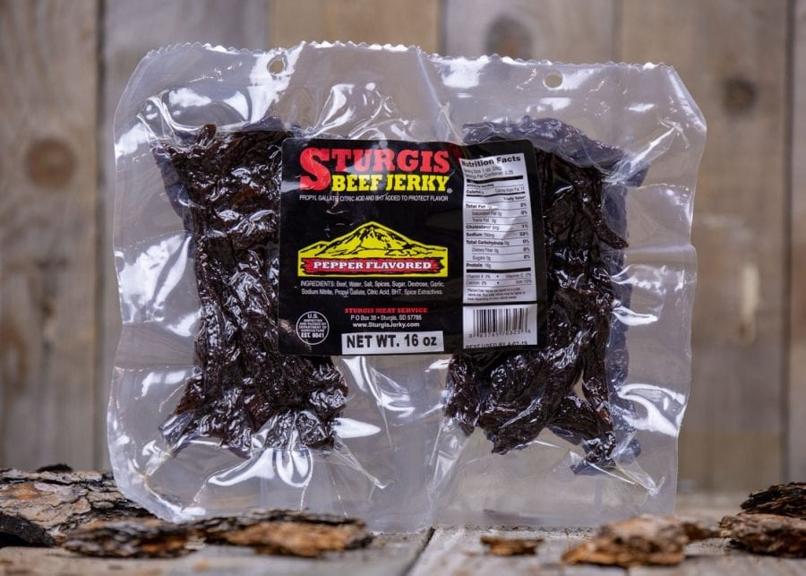 Pepper Flavored Sturgis Jerky